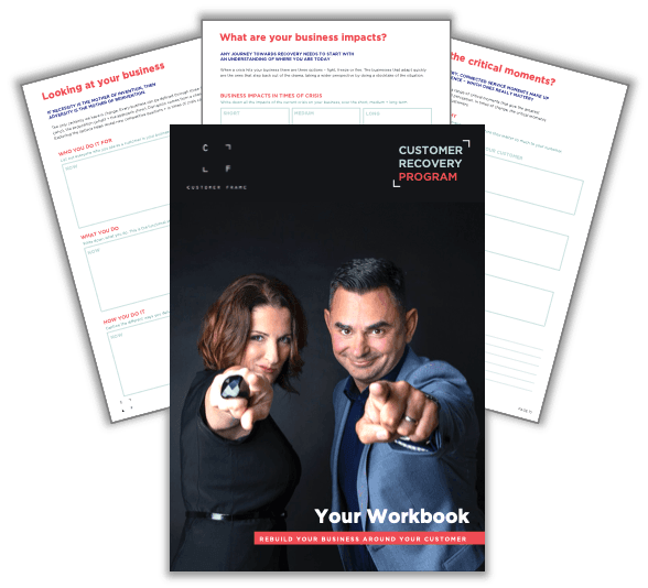 Customer Recovery Program by Customer Frame Workbook