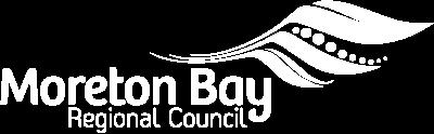 Customer Frame Landing Page - Become a Customer-led Council - Moreton Bay Regional Council Logo_White